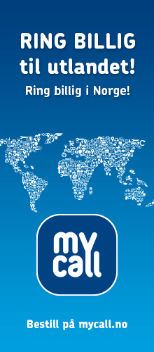 Ring billig til utlandet med MyCall